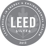 Logo: 2012 LEED Silver Certification