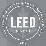 Logo: 2012 LEED Silver Certification